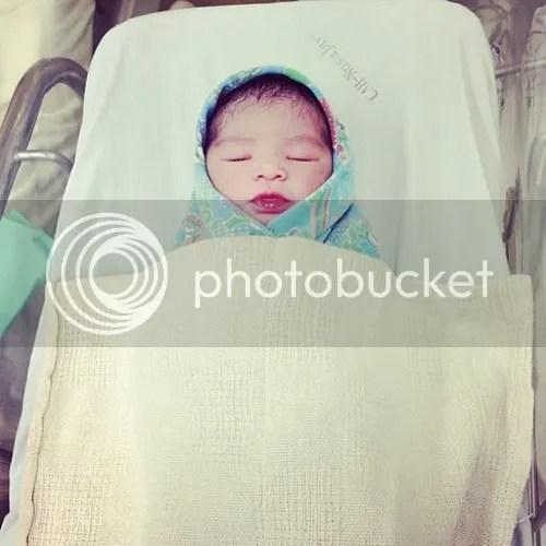 baby kedua ayu raudhah