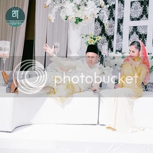 gambar pertunangan hafiz suip