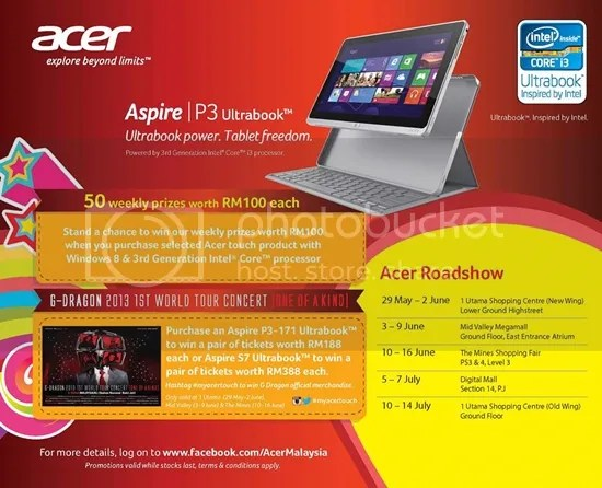 acer p3 ultrabook