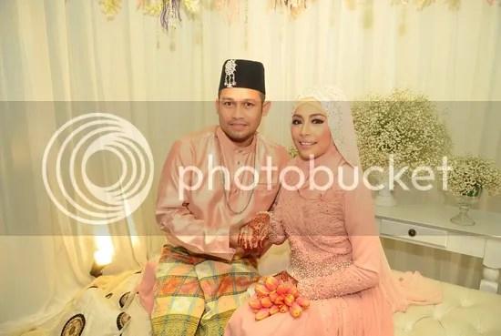 gambar kahwin beego dan linda hashim