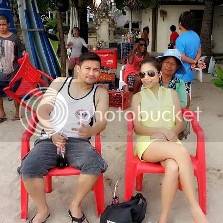 gambar honeymoon beego dan linda hashim