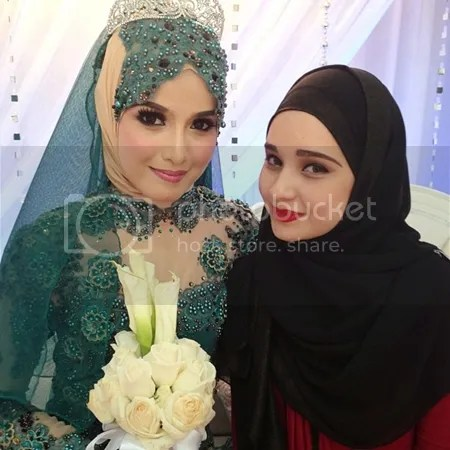 gambar perkahwinan linda roslan