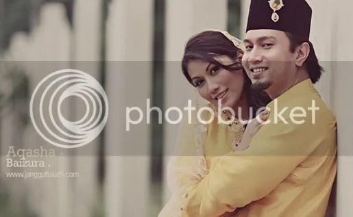 gambar kahwin aqasha baizura