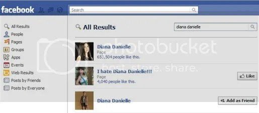 facebook i hate diana danielle