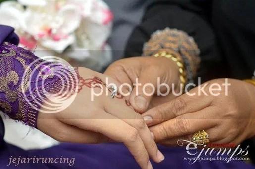gambar pertunangan khairul fahmi dan elia
