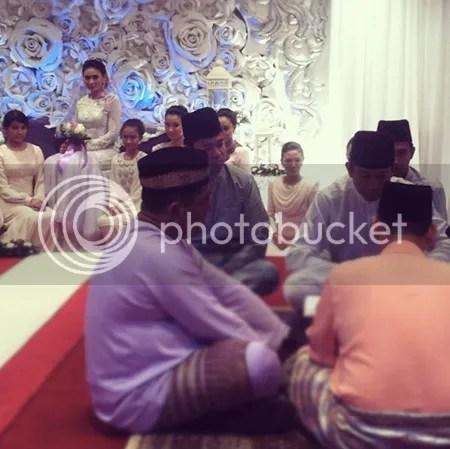 gambr pernikahan fasha dan jejai
