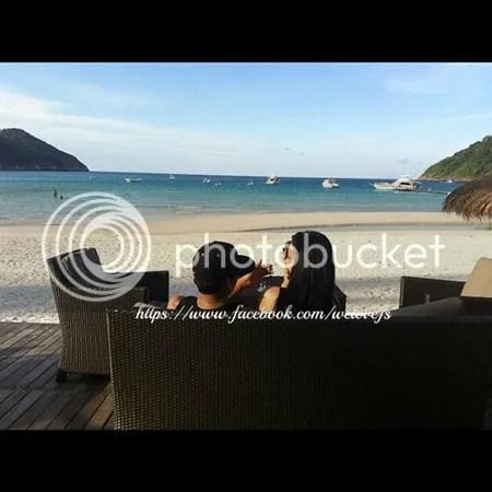 gambar honeymoon fasha sandha