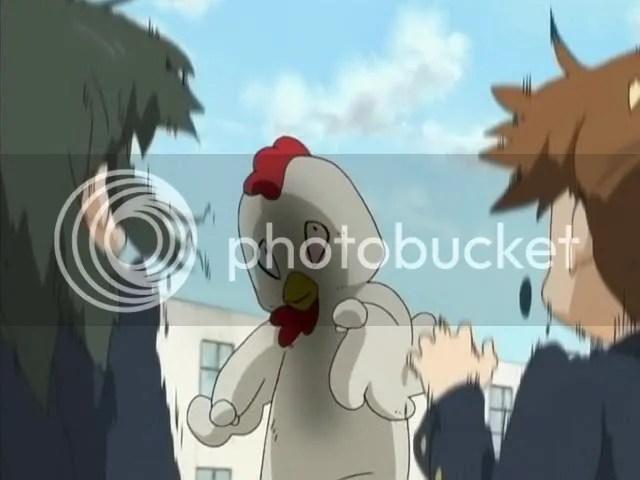 Chicken-Yui will kill your family.
