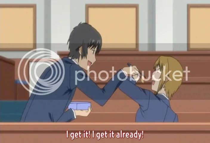 Hosaka, when a woman says No, she means No.