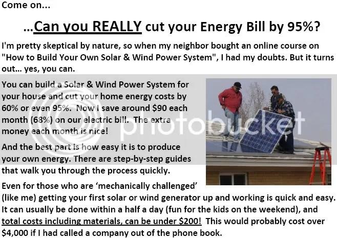 residential solar panel kits