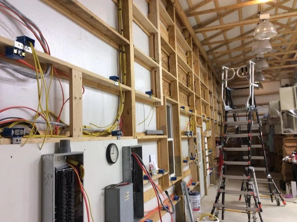 wiring a pole barn enthusiast wiring diagrams u2022 rh rasalibre co Pole Barn Wiring Code Pole Barn Wiring Code