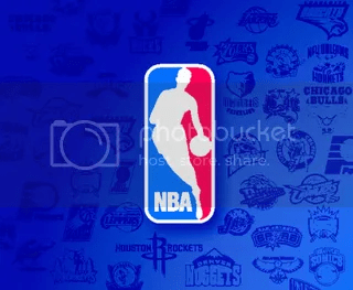 NBA logo w/teams
