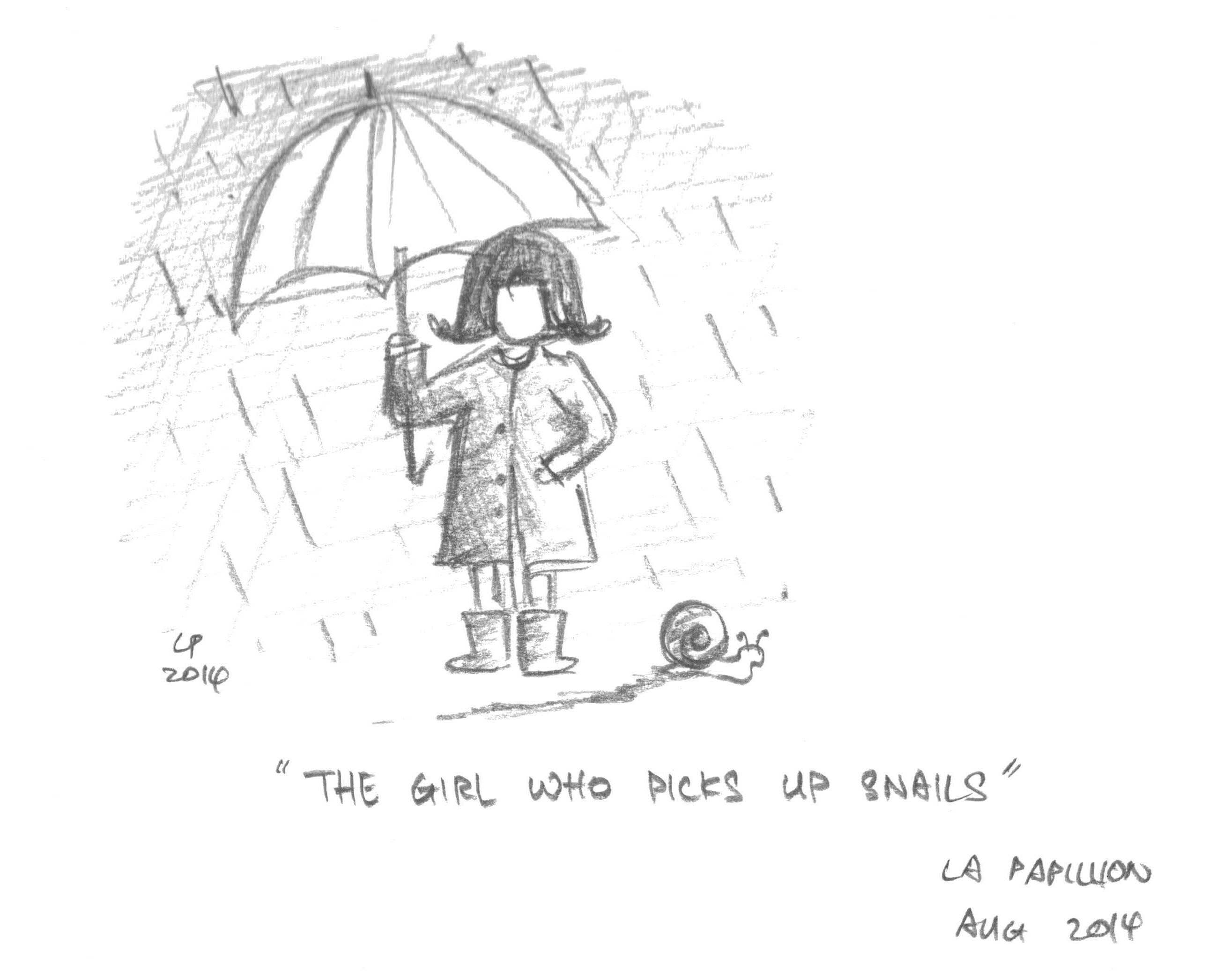 The Girl Who Picks Up Snail