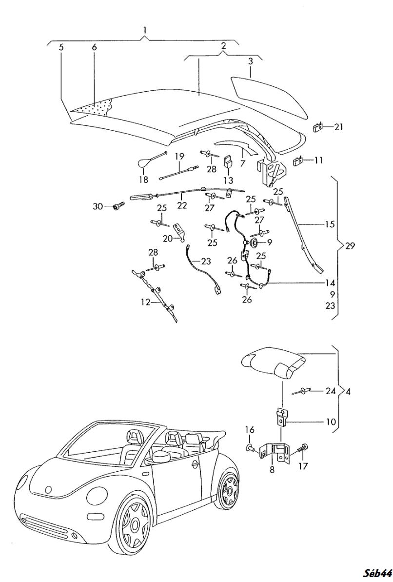 2005 Vw Beetle Parts Diagram