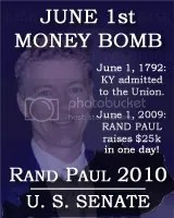 Rand Paul June 1st MoneyBomb