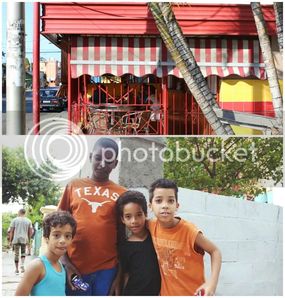 store front, kids, children, cuban children, locals