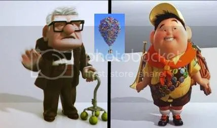 Movie Pixar Up in 2009