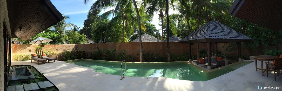 As you can see, this pool is   longer than the previous