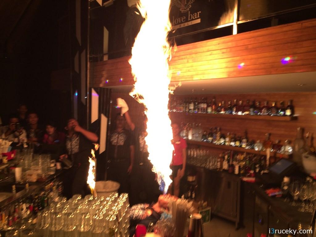 fashion tv hotel bali fire breather