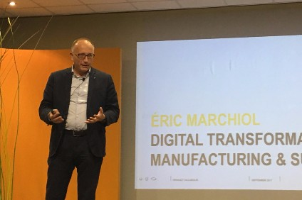 """""""Robots or [a] mix is not cutting jobs - it is just enabling us to build more cars and more connected cars"""" - Renault digital transformation VP manufacturing and supply chain Eric Marchiol in Valladolid"""