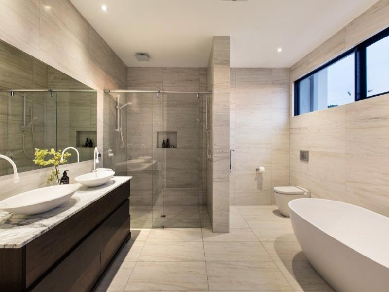 Photo of a bathroom design from a real Australian house ...