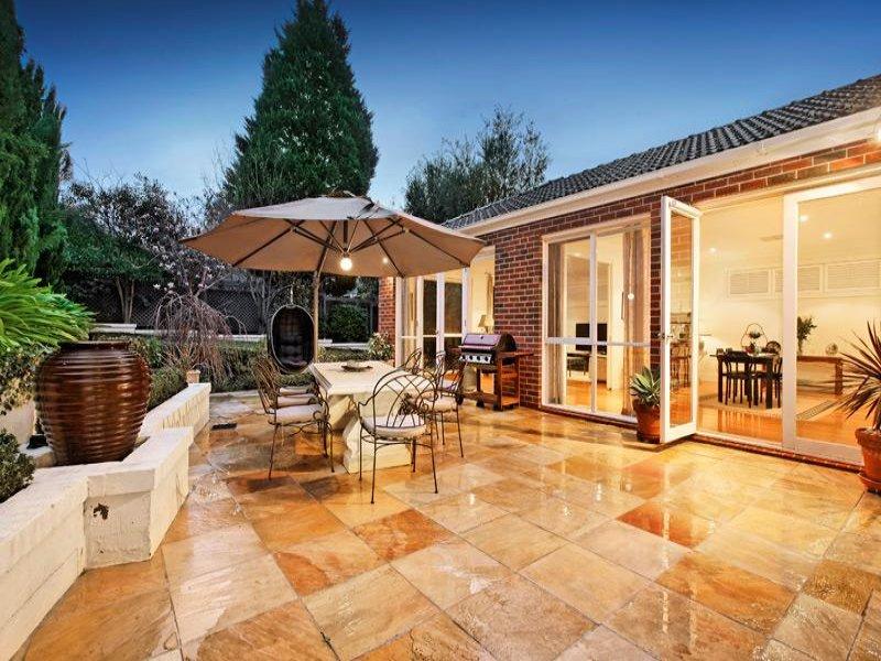 Indoor-outdoor outdoor living design with balcony ... on Fancy Outdoor Living id=83018