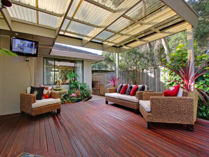 Outdoor living design with deck from a real Australian ... on Aust Outdoor Living  id=58944
