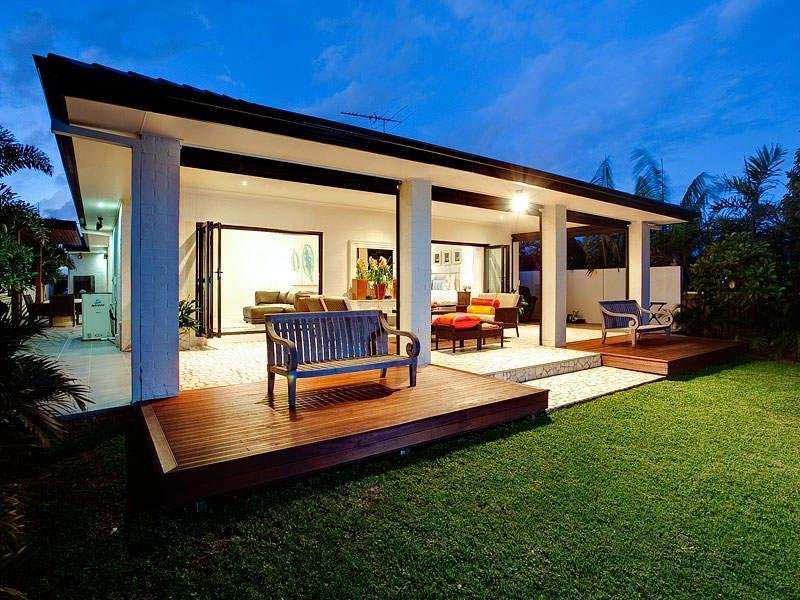 Outdoor living design with deck from a real Australian ... on Aust Outdoor Living  id=33561