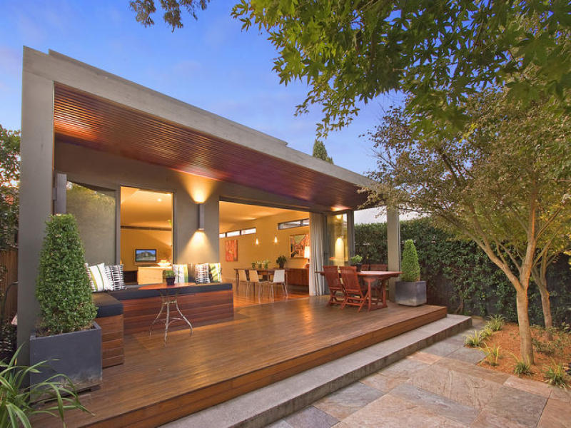 Photo of an outdoor living design from a real Australian ... on Aust Outdoor Living  id=32774