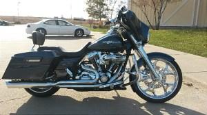 2008 HarleyDavidson® FLHX Street Glide® (Dark Blue Pearl