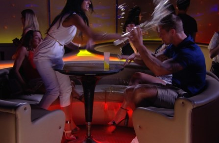 TOWIE's Jasmin Walia cries and throws drink in Dan Osborne's face in Marbella - 25 June 2014