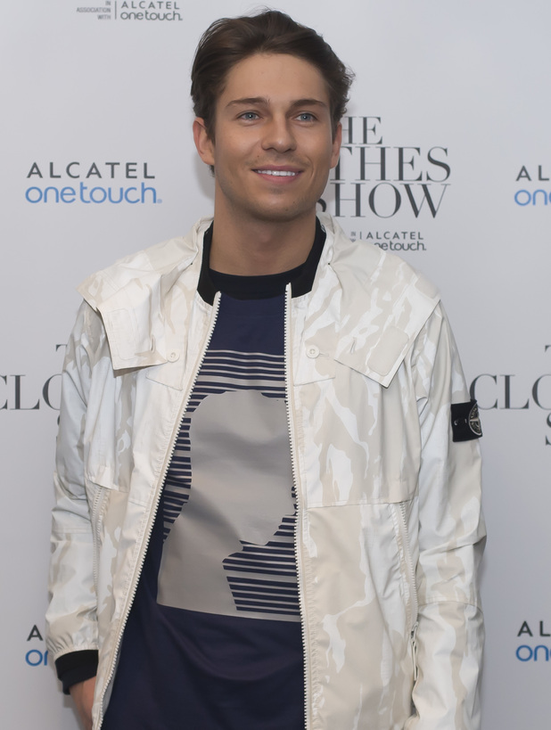 Joey Essex attends The Clothes Show - Day 1 at the NEC Birmingham, 4 December 2015