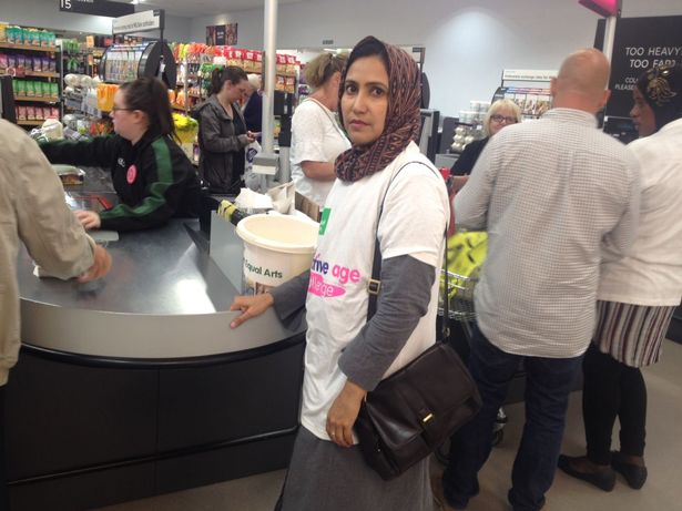 Women of Ahmadiyya Muslim Association Newcastle raised funds for people with Dementia