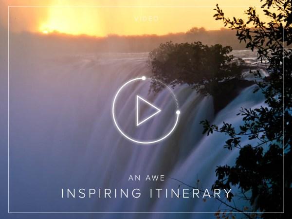An Awe Inspiring Itinerary