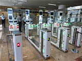 Automated border control gates