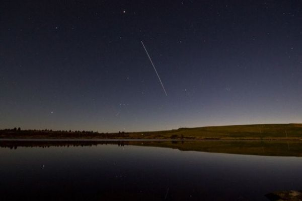 International Space Station ISS North Wales viewing