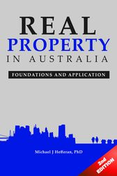 Real Property in Australia by Michael J. Hefferan
