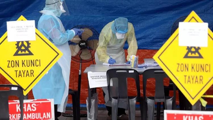 Son dakika haberler: Corona virüs salgınında meyyit sayısı 14 bin 706'ya yükseldi 1