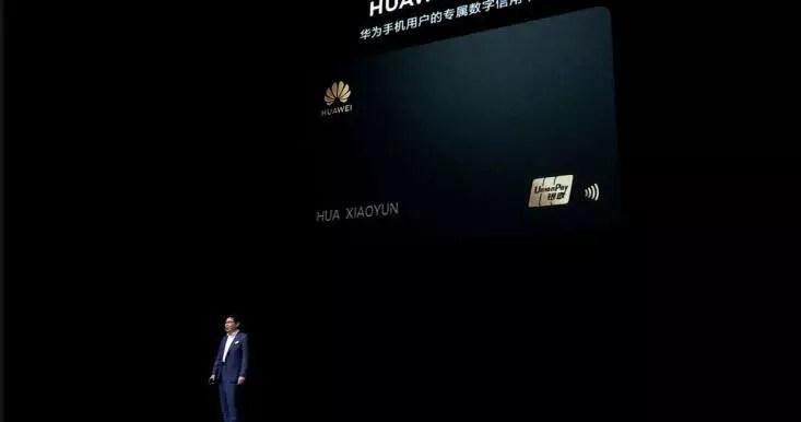 Huawei de kendi kredi kartını çıkarıyor 1