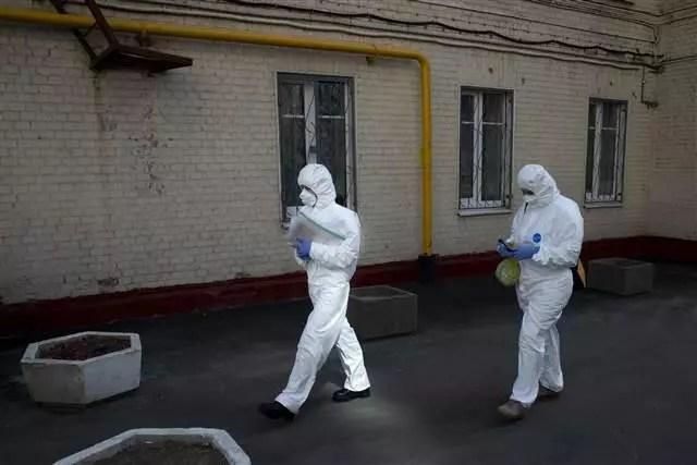 Rusya'da Corona Virüsten ölenlerin sayısı 130'a çıktı 1