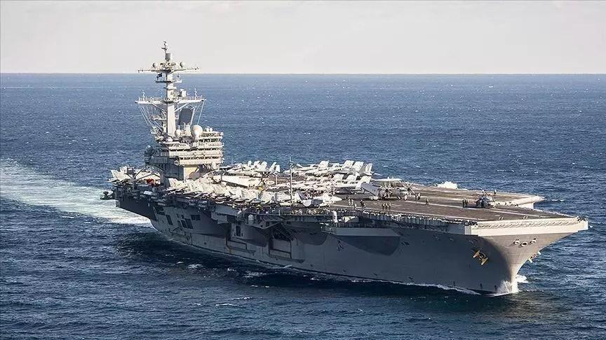 ABD uçak gemisinde Corona Virüs kaynaklı birinci mevt 1
