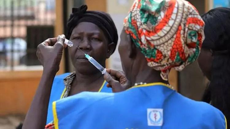 Güney Sudan'ın güneyinde sarı humma salgını başladı 1