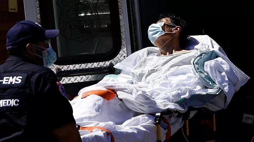 Son dakika haberi: ABD'de corona virüsten can kaybı 25 bini aştı 1