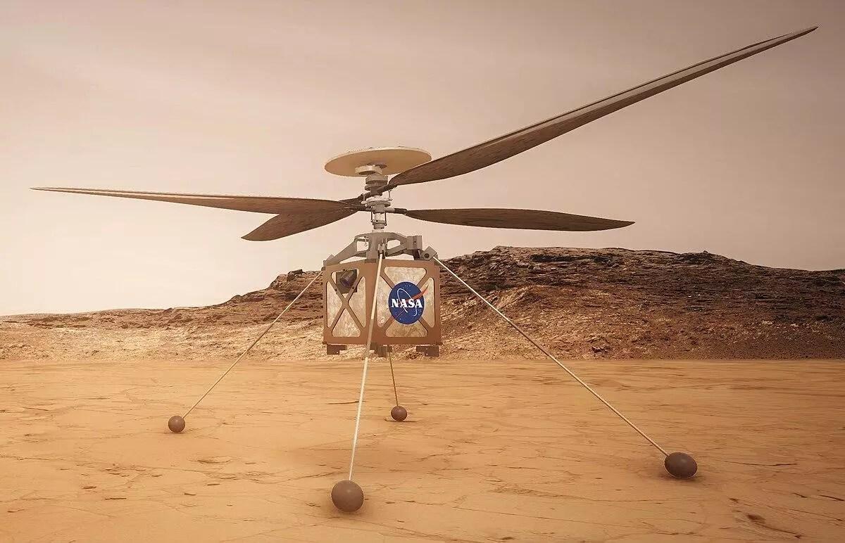 NASA bu sefer Mars'a helikopter gönderecek 1