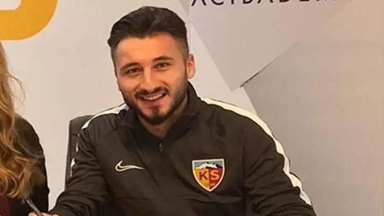 Kayserisporlu futbolcu Enver Cenk Şahin Spor Arena'ya konuştu 1