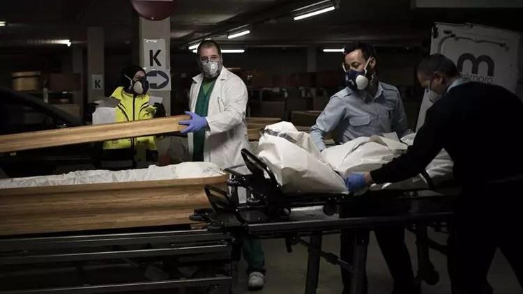 Son dakika haberi: İspanya'da can kaybı 19 bini aştı 1