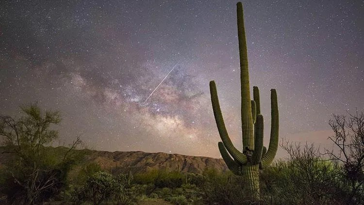 Lyrid meteor yağmurları bu gece dorukta olacak 1