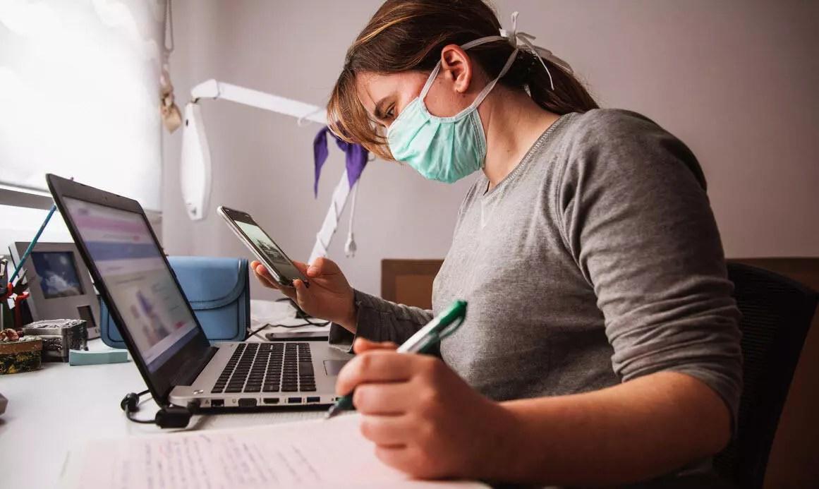 Koronavirüs 'Bilgisayar Görme Sendromu' riskini artırdı 1