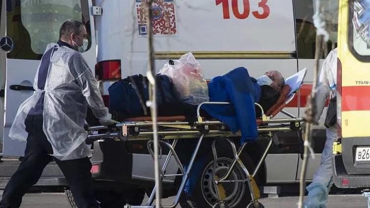 Son dakika haberi: Rusya'da koronavirüs hadise sayısı 100 bini aştı 1