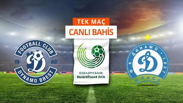 Brest'te 7 eksik! Dinamo Minsk karşısında iddaa'da galibiyetlerine... 1